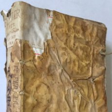 Libros antiguos: COMMENTARIUS ANALYTICUS AD CONSTITUTIONEM EX INSIGNIORIBUS PRINCIPATUS CATHALONIAE... 1629. Lote 246480220