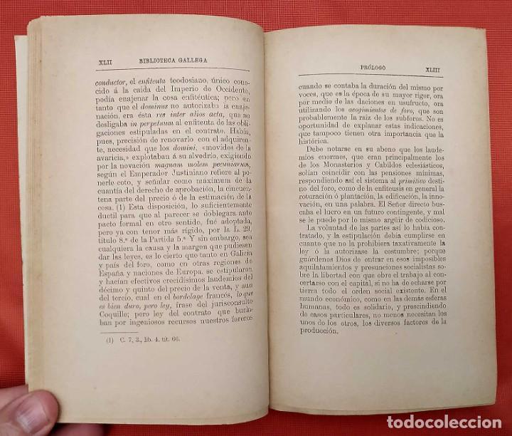 Libros antiguos: LA PROPIEDAD FORAL EN GALICIA. LA CORUÑA. AÑO: 1888. EDUARDO VINCENTI Y REGUERA. - Foto 3 - 246707835