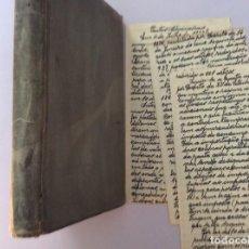 Libros antiguos: AS ALFANDEGAS. APONTAMENTOS POR JOSÉ PAULINO DE SOUSA PEREIRA, 1906. CON MANUSCRITOS. Lote 246856965