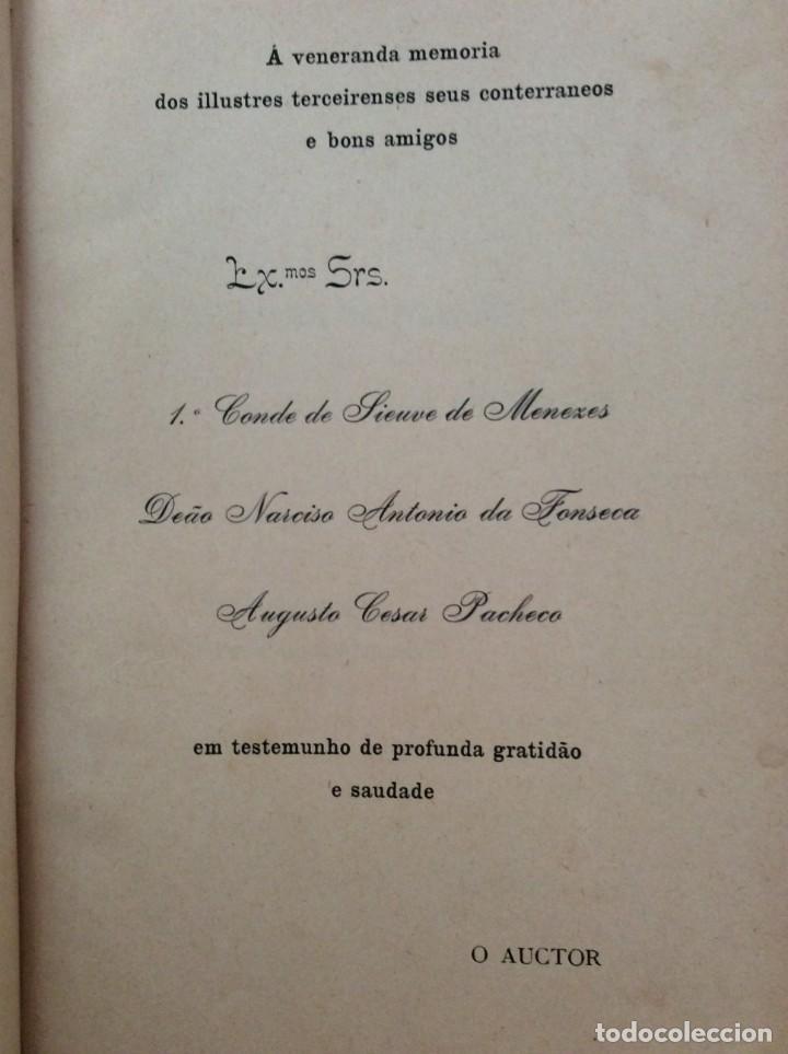 Libros antiguos: AS ALFANDEGAS. APONTAMENTOS POR JOSÉ PAULINO DE SOUSA PEREIRA, 1906. CON MANUSCRITOS - Foto 5 - 246856965