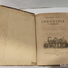 Libros antiguos: TRATADO ELEMENTAL DE NOCIONES INDUSTRIA Y COMERCIO MARTINEZ Y GARCIA , J -E CHACÓN Y MORERA 1891. Lote 251046915