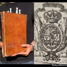 Libros antiguos: 1782 - ORDENANZAS PARA LA INSTRUCCION DE INTENDENTES EN BUENOS AIRES - ARGENTINA - DERECHO INDIAS. Lote 251368500