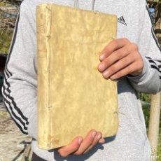 Libros antiguos: 1622 - DE ANNIVERSARIIS ET CAPELLANIIS - FUNDACION DE CAPILLAS, MONTE DE PIEDAD, REDENCIÓN DE CAUTIV. Lote 251372640