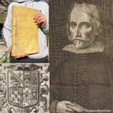 Libros antiguos: 1669 DE INCOMPATIBILITATE REGNORUM, MAJORATUUM - GRANADA - PERGAMINO - DERECHO. Lote 251386130