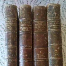 Libros antiguos: DICCIONARIO DE DERECHO USUAL G. LA IGLESIA TOMOS 2 - 3 - 4 Y 5 AÑO 1890 LOTE DE 4 LIBROS. Lote 252828345