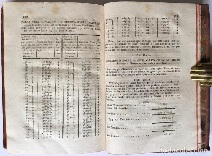 Libros antiguos: REDUCCION RECIPROCA DE REALES VELLON NOMINALES, efectivos, catalanes; libras, sueldos y dineros vale - Foto 6 - 123259295
