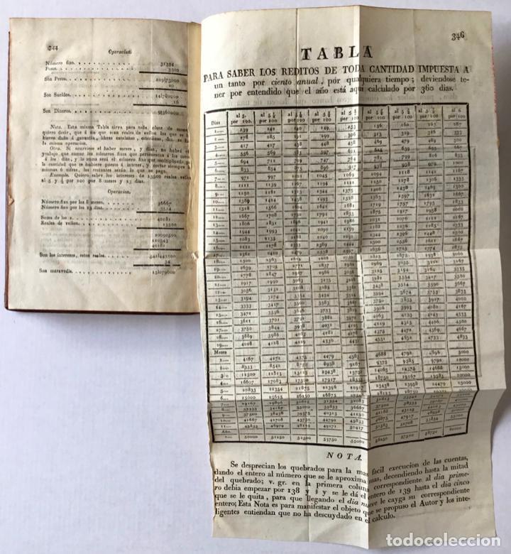 Libros antiguos: REDUCCION RECIPROCA DE REALES VELLON NOMINALES, efectivos, catalanes; libras, sueldos y dineros vale - Foto 7 - 123259295