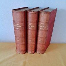 Libros antiguos: M.F.C. DE SAVIGNY - SISTEMA DEL DERECHO ROMANO ACTUAL (3 VOLUMENES, 6 TOMOS) - MADRID 1878. Lote 257493030