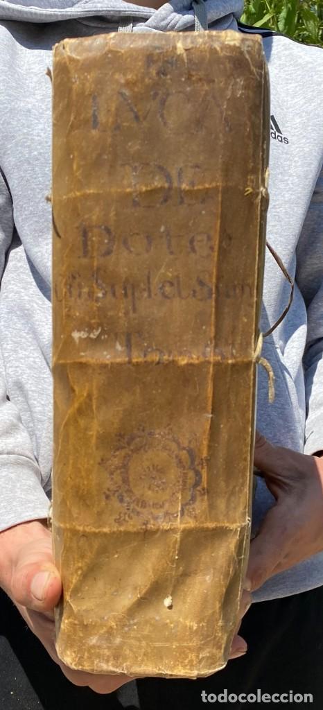 Libros antiguos: 1670 - THEATRUM VERITATIS - DE DOTE, LUCRIS, DOTALIBUS - DERECHO - PERGAMINO - FOLIO - Foto 2 - 259747545