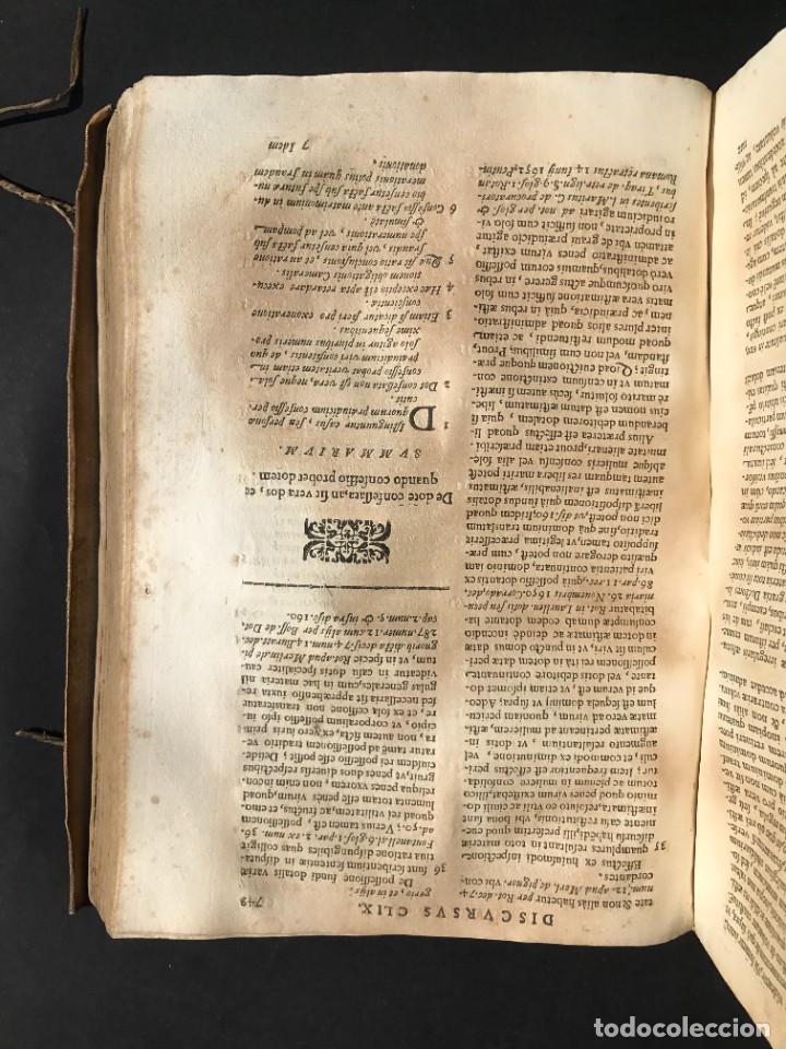 Libros antiguos: 1670 - THEATRUM VERITATIS - DE DOTE, LUCRIS, DOTALIBUS - DERECHO - PERGAMINO - FOLIO - Foto 30 - 259747545