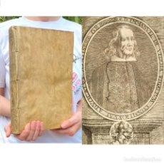 Libros antiguos: AÑO 1679 - TRATADO SOBRE LA SUCESION Y MAYORAZGO DEL DUCADO DE CARDONA - SEGORBE - DENIA - LERMA - D. Lote 259854715