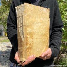 Libros antiguos: 1743 - FORORUM ARAGONIAE CODEX - ZARAGOZA - FUEROS DE ARAGON - DERECHO - BELMONTE DE GRACIÁN - PERGA. Lote 259856400