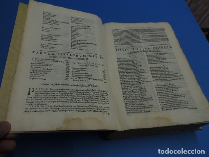 Libros antiguos: CONCORDANTIAE UTRIUSQUE IURIS, CIVILIS, ET CANONIC.- SEBASTIANO XIMENEZ TOLETANO (AÑO 1611) - Foto 9 - 260387965