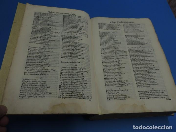 Libros antiguos: CONCORDANTIAE UTRIUSQUE IURIS, CIVILIS, ET CANONIC.- SEBASTIANO XIMENEZ TOLETANO (AÑO 1611) - Foto 10 - 260387965