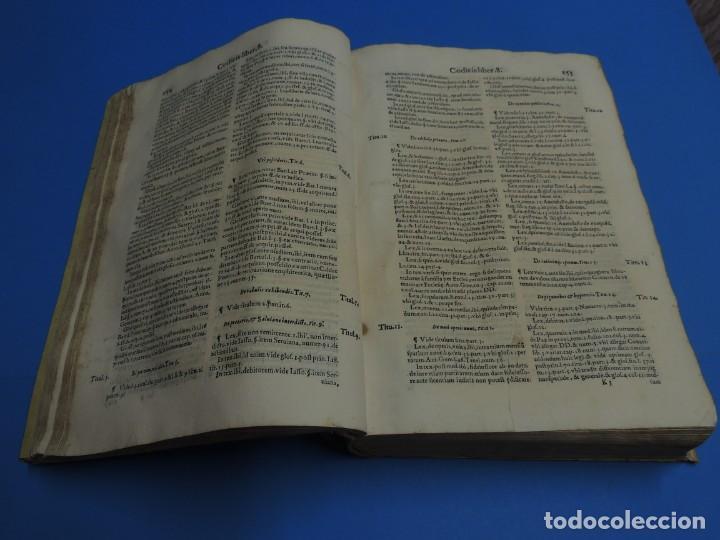 Libros antiguos: CONCORDANTIAE UTRIUSQUE IURIS, CIVILIS, ET CANONIC.- SEBASTIANO XIMENEZ TOLETANO (AÑO 1611) - Foto 13 - 260387965