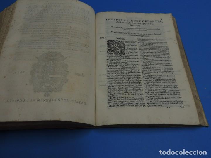 Libros antiguos: CONCORDANTIAE UTRIUSQUE IURIS, CIVILIS, ET CANONIC.- SEBASTIANO XIMENEZ TOLETANO (AÑO 1611) - Foto 18 - 260387965