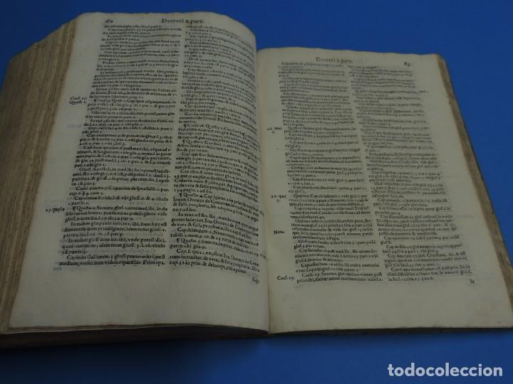 Libros antiguos: CONCORDANTIAE UTRIUSQUE IURIS, CIVILIS, ET CANONIC.- SEBASTIANO XIMENEZ TOLETANO (AÑO 1611) - Foto 19 - 260387965