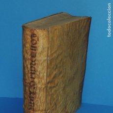 Libros antiguos: CONCORDANTIAE UTRIUSQUE IURIS, CIVILIS, ET CANONIC.- SEBASTIANO XIMENEZ TOLETANO (AÑO 1611). Lote 260387965