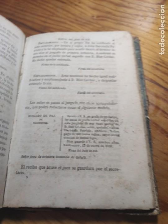 Libros antiguos: Manual del Juez de Paz, Celestino Mas y Abad 1855 Derecho y Leyes - Foto 6 - 261305610