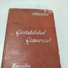 Libros antiguos: CONTABILIDAD COMERCIAL....CON PUBLICIDAD... Lote 262084150