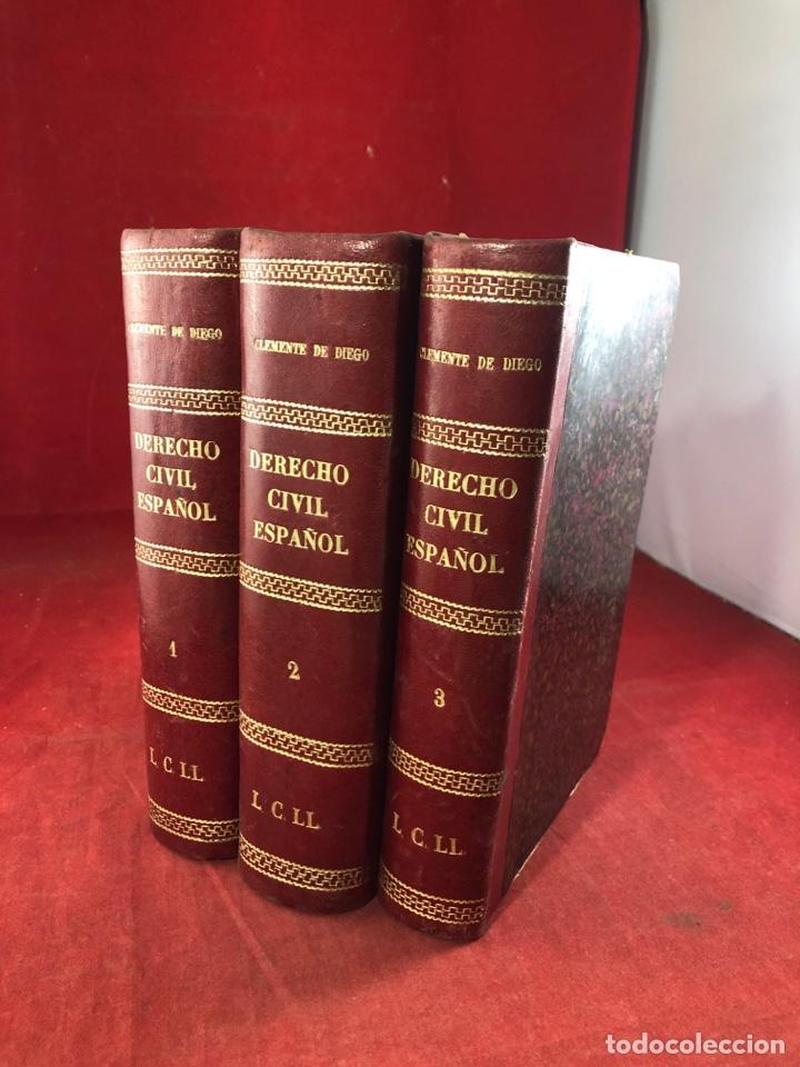 CURSO ELEMENTAL DE DERECHO CIVIL ESPAÑOL, COMÚN Y FORAL 1923 (Libros Antiguos, Raros y Curiosos - Ciencias, Manuales y Oficios - Derecho, Economía y Comercio)