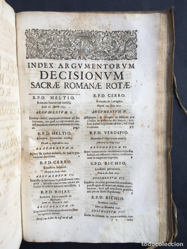 Libros antiguos: Año 1683 - TRACTATUS DE CESSIONE IURIUM - Alfonso de Olea - Pergamino - Derecho - Folio - Valladolid - Foto 38 - 267018889