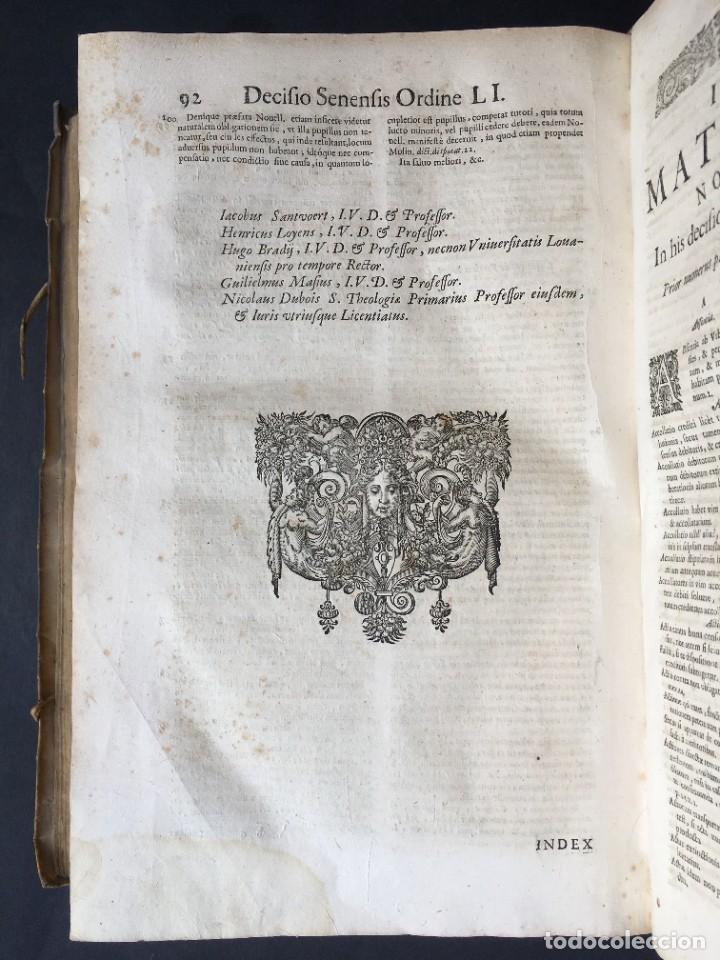 Libros antiguos: Año 1683 - TRACTATUS DE CESSIONE IURIUM - Alfonso de Olea - Pergamino - Derecho - Folio - Valladolid - Foto 43 - 267018889