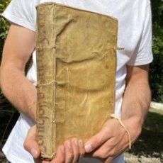 Libros antiguos: 1641 - CONSILIORUM DECISSIVORUM. CENTURIA PRIMA - JUAN CRISTOBAL DE SUELVES - DERECHO FORAL DE ARAGÓ. Lote 267077004