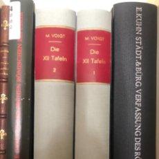 Libros antiguos: DIE XII TAFELN VOIGT. Lote 267341604