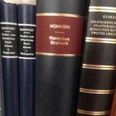 Libros antiguos: MOMMSEN RÖMISCHES STRAFRECHT. Lote 267341864