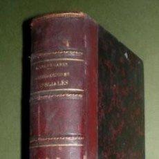 Libros antiguos: EDUARDO ALONSO Y COLMENARES: JURISDICCIONES ESPECIALES I, II Y III. 1884-1886. Lote 268419764