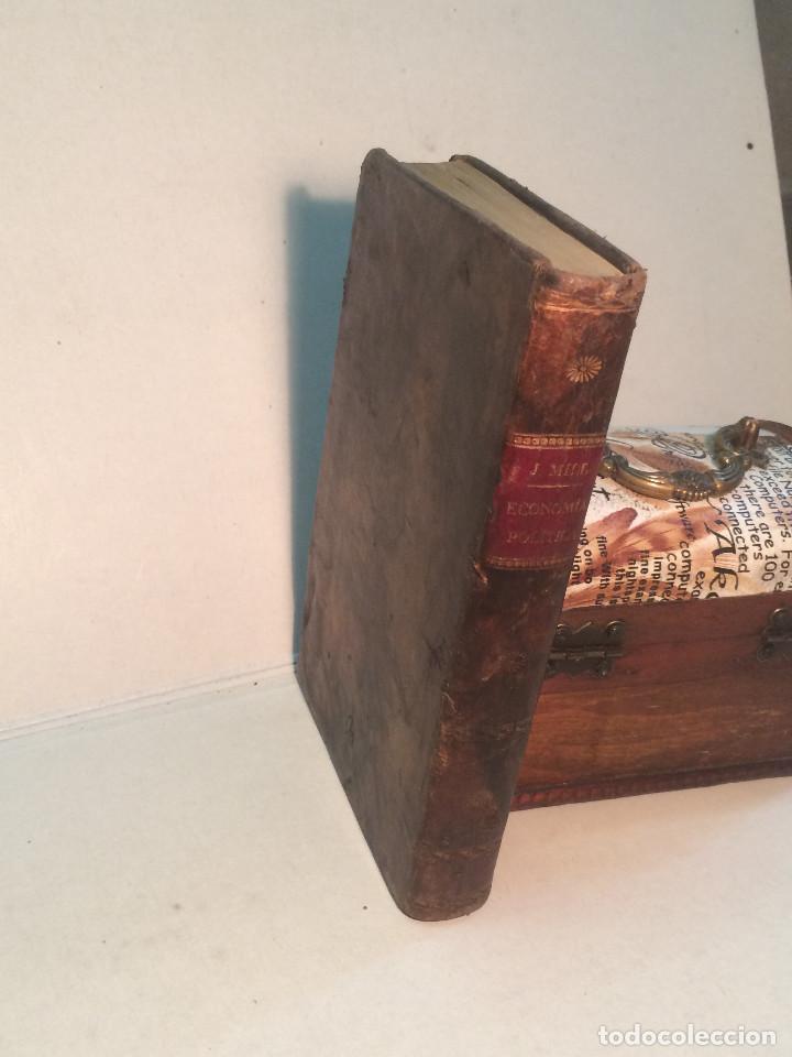 Libros antiguos: J. Mill: Elementos de economía política (1831) - Foto 5 - 269083448