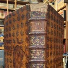 Libros antiguos: LES LOIX CIVILES DANS LEUR ORDRE NATUREL, LE DROIT PUBLIC, ET LEGUM DELECTUS. M. DOMAT. Lote 269295703
