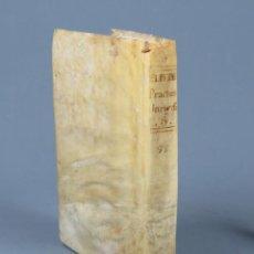 Libros antiguos: PRÁCTICA UNIVERSAL FORENSE DE LOS TRIBUNALES DE ESPAÑA Y DE LAS INDIAS-F. A. DE ELIZONDO-T8-1788. Lote 269640083