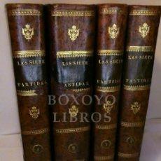 Libri antichi: ALFONSO EL SABIO. LAS SIETE PARTIDAS DEL SABIO REY DON ALONSO EL IX, GLOSADAS POR GREGORIO LÓPEZ. Lote 270119888