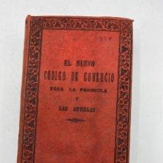 Libros antiguos: EL NUEVO CODIGO DE COMERCIO PARA LA PENINSULA Y LAS ANTILLAS. VICENTE ROMERO Y GIRON. MADRID,1886. Lote 271058913