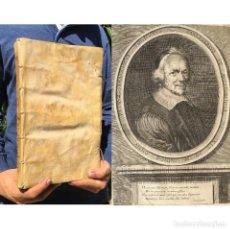 Libros antiguos: AÑO 1661 - TRACTATUS DE PENSIONIBUS - FOLIO, 34 X 23 CM - PERGAMINO - DERECHO CANÓNICO. Lote 271549218