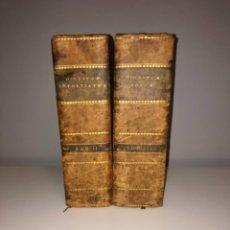 Libros antiguos: AÑO 1574 - TOMOS II Y III - DIGESTO JUSTINIANO DOS TINTAS - PANDECTARUM SEV DIGESTORUM IURIS CIVILIS. Lote 271576958