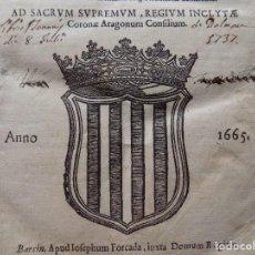 Libros antiguos: LIBRERIA GHOTICA.MICHAELE DE CORTIADA.DECISIONES REVERENDI CANCELLARI,SACRI SENATUS CATHALONIAE.1665. Lote 274231718