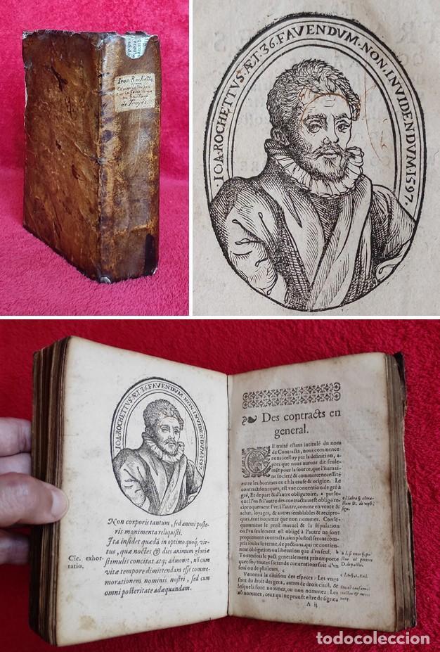 AÑO 1596 - DERECHO FEUDAL - SEÑORES FEUDALES - VASALLOS - BAILÍAS - GRABADOS - 2 OBRAS EN UN VOLUMEN (Libros Antiguos, Raros y Curiosos - Ciencias, Manuales y Oficios - Derecho, Economía y Comercio)