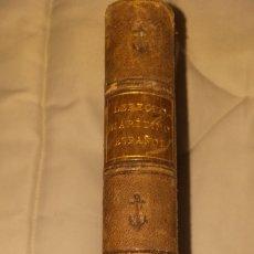 Libros antiguos: DERECHO MARITIMO ESPAÑOL. Lote 276016988