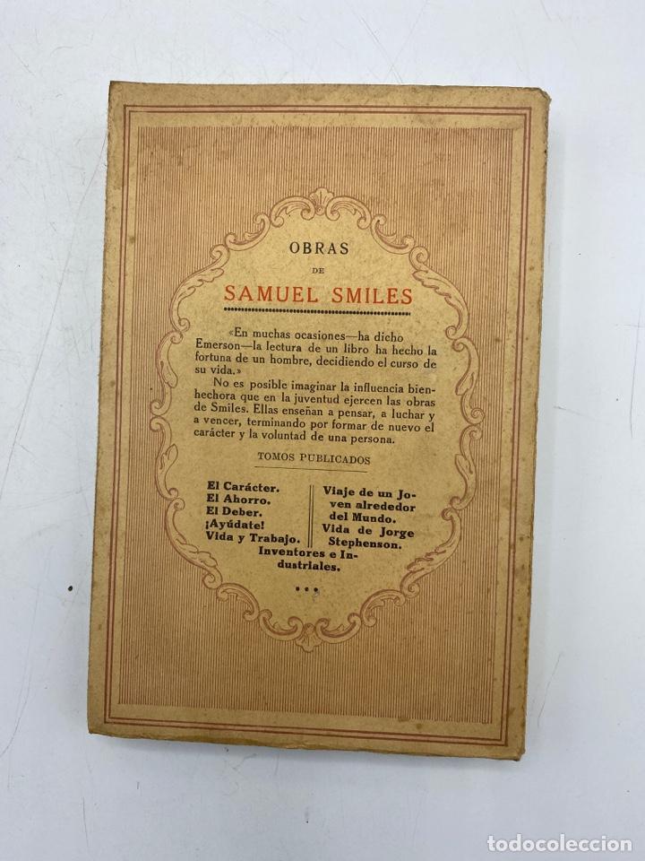 Libros antiguos: EL AHORRO. SAMUEL SMILES. EDITORIAL RAMON SOPENA. BARCELONA, 1935. PAGS: 310 - Foto 4 - 277641203