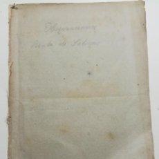 Libros antiguos: OBSERVACIONES , RENTA DE SALINAS EN EL ANTIGUO PRINCIPADO DE CATALUÑA (1831-1837) MADRID 1841. Lote 278383748