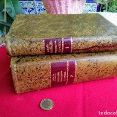Libros antiguos: TOMOS 1 Y 2 DERECHO ADMINISTRATIVO ESPAÑOL AÑO 1886. Lote 281935863