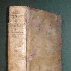 Libros antiguos: ARNOLDI VINNII I.C. IN QUATUOR LIBROS INSTITUTIONUM IMPERIALIUM COMMENTARIUS ACADEMICUS ET FORENSIS. Lote 285658433