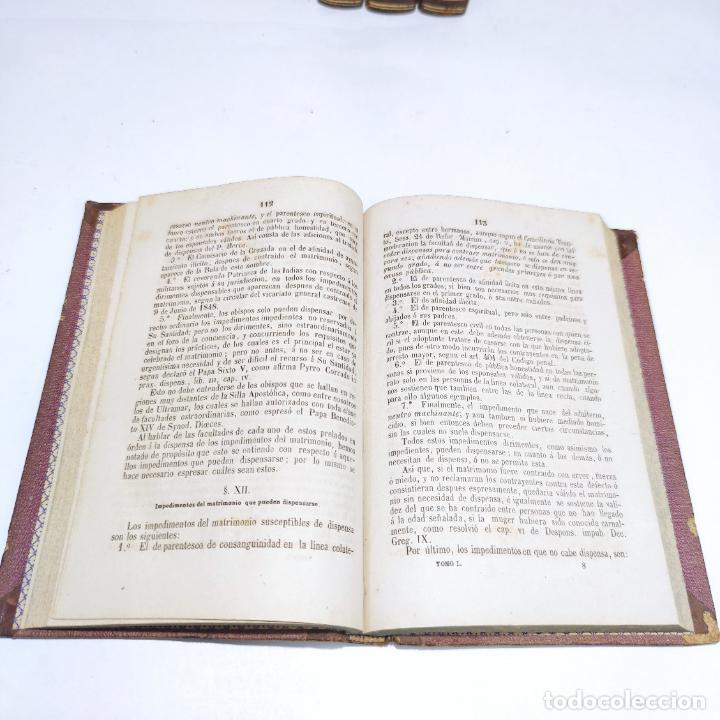 Libros antiguos: Lecciones elementales de derecho civil. Dr. Salvador del Viso. 4 tomos. Valencia. 1868. - Foto 7 - 286275643