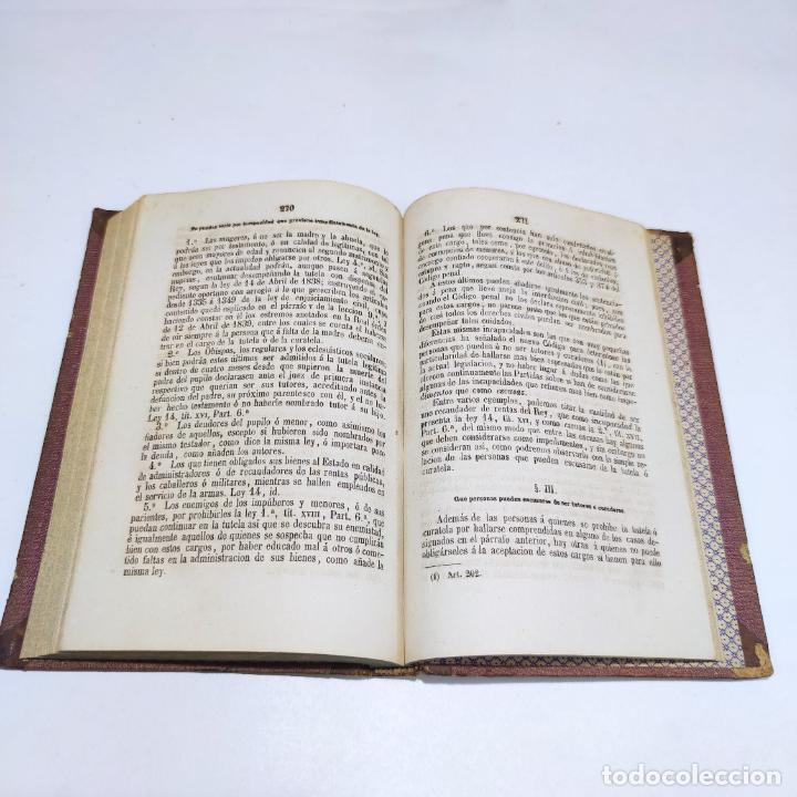 Libros antiguos: Lecciones elementales de derecho civil. Dr. Salvador del Viso. 4 tomos. Valencia. 1868. - Foto 8 - 286275643