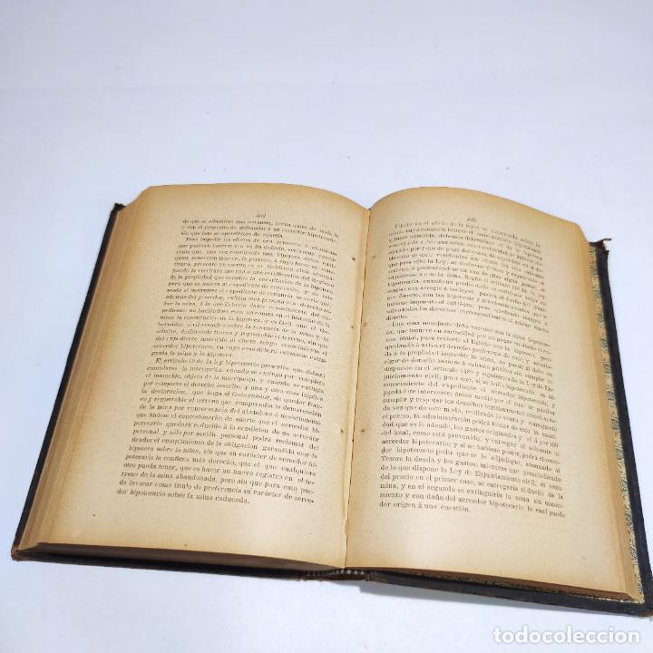 Libros antiguos: La propiedad minera ante la ley civil. Don Antonio Onofre Alcocer. Cartagena. 1897. - Foto 6 - 286283113