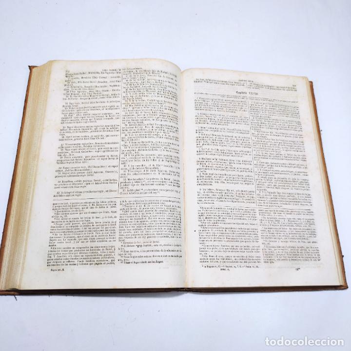 Libros antiguos: La Santa Biblia. De la vulgata latina y anotada. Ilmo. Sr. D. Felipe Scio de S. Miguel. Tomo II. Ant - Foto 6 - 286488143