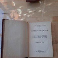 Libros antiguos: LEGISLACIÓN HIPOTECARIA PRIMERA EDICIÓN 1933. Lote 286895238